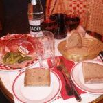Charcuterie plate, St-Germain des Pres cafe