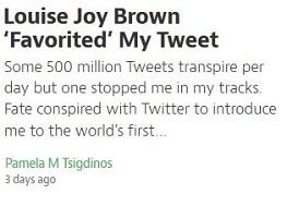 Louise Joy Brown