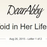 Dear Abby Strikes Out On Infertility, Childless Not By Choice Question