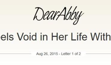 Dear Abby Infertility