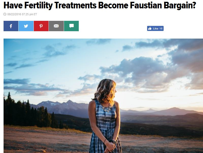 Have Fertility Treatments Become Faustian Bargain?