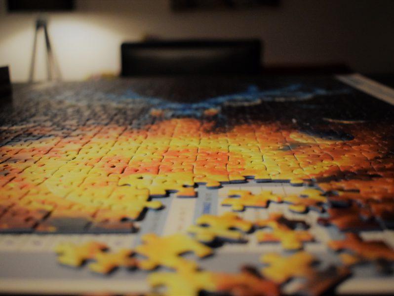 sadness puzzle